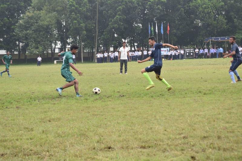 Inter House Foot Ball
