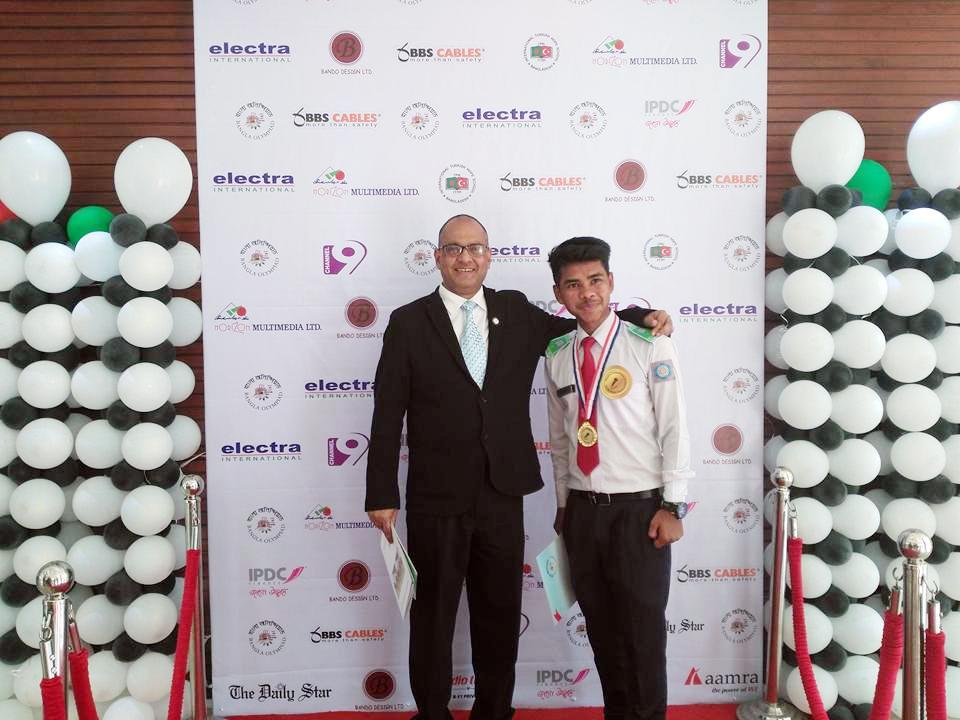 1st in Forum speech in Bangla Olympiad